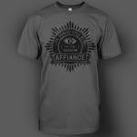 Affiance The Cynic Charcoal T-Shirt