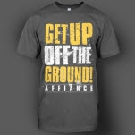 Affiance Get Up Charcoal T-Shirt