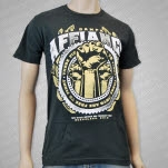 Affiance These Fists Charcoal T-Shirt