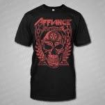 Affiance Warrior In Death Black T-Shirt