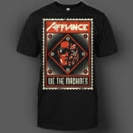 Affiance We The Machines Black T-Shirt
