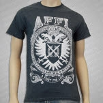 A Fight For Life CREST DARK HEATHER T-Shirt