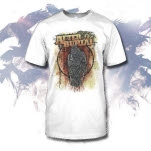 After The Burial Raven White T-Shirt
