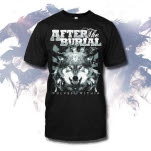 After The Burial Wolves Black T-Shirt