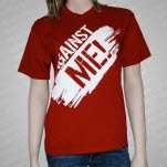 Against Me Logo Red T-Shirt