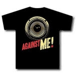 Against Me Speaker Black Girls T-Shirt