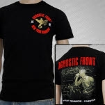 Agnostic Front Today Tomorrow Forever Black T-Shirt