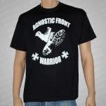 Agnostic Front Warrior Classic Boots Black T-Shirt