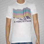 A Hero A Fake Mountain White T-Shirt