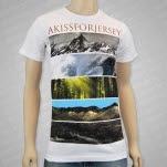 Akissforjersey Nature White T-Shirt