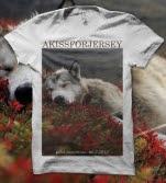 Akissforjersey Sleeping Husky White T-Shirt