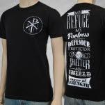 Akissforjersey Tower Black T-Shirt