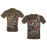 Alchemy Peacemaker Ul13 Mens Black Vintage Shirt T-Shirt