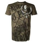 Alchemy Death Laurel Army Green T-Shirt