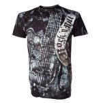 Alchemy Rock N Roll Gretsh Guitar Black T-Shirt
