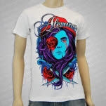 Alesana Bleeding Rose White T-Shirt