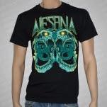 Alesana Siamese Skulls Black T-Shirt