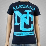 Alesana Still Not Metal Navy T-Shirt