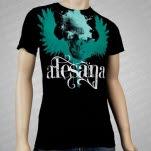 Alesana Wings Black T-Shirt