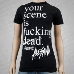 Alesana Your Scene Is Dead Black T-Shirt