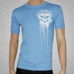 Alexisonfire Bloody Heart Light Blue T-Shirt