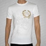 Alexisonfire Crest White T-Shirt