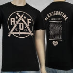 Alexisonfire Dagger Black T-Shirt