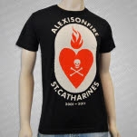 Alexisonfire Heart Flame Black T-Shirt
