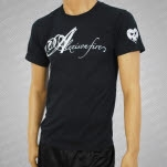 Alexisonfire Script Black RED Distro T-Shirt