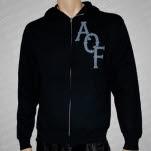Alexisonfire Snake Black Hoodie Zip