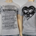 Alexisonfire Spraypaint Grey T-Shirt