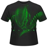 Alien Warrior All Over Front Print T-Shirt Mega Print