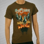 A Life Once Lost 4 Horsemen Brown T-Shirt