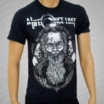 A Life Once Lost Old Man Black T-Shirt