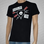 official Alkaline Trio Arrow Heart Black T-Shirt