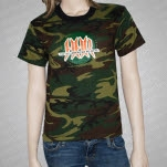 All American Rejects The Circle Camo T-Shirt
