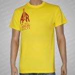 All American Rejects Flyin V Yellow T-Shirt