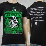 Allegaeon Accelerated Evolution Black T-Shirt