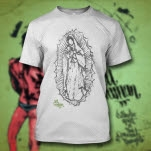 All Human Mary White T-Shirt