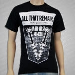All That Remains Switchblades Black T-Shirt