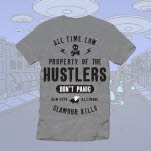 All Time Low Hustler Club Exclusive Heather Grey T-Shirt