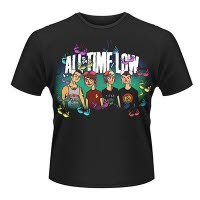 All Time Low Sup Bra T-Shirt