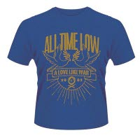 All Time Low Doves T-Shirt