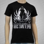 Along Came A Spider If We Were Normal Men Black T-Shirt