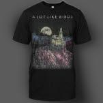 A Lot Like Birds Dark House Black T-Shirt
