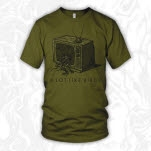 A Lot Like Birds TV Olive Green T-Shirt