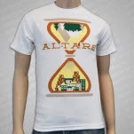 ALTARS Hourglass White T-Shirt