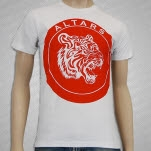 ALTARS Tiger White T-Shirt