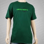 Amber Pacific Logo Forest Green T-Shirt