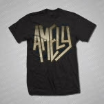 official Amely Logo Black T-Shirt